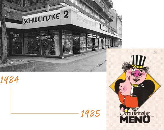 Historie - 1984-1985